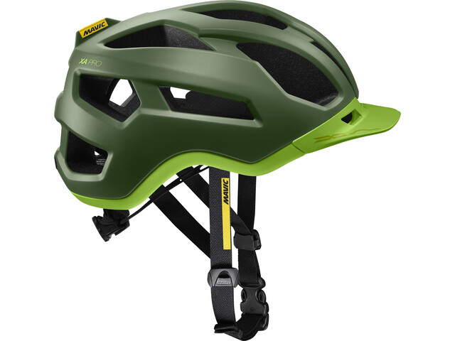 Mavic XA Pro Fietshelm Heren, chive/lime green